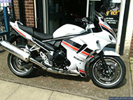 GSX1250FA limited edition white/red